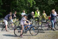 Camping und Radfahren in der Lüneburger Heide