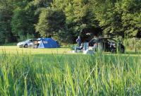 viel Platz auf der neu angelegten Zeltwiese