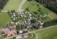 Luftbild Campingplatz Laascher See