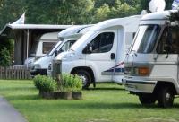 Wohnmobilstellplatz auf den Campingplatz