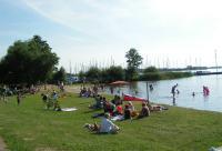 Badestelle Hüde Dümmer-See