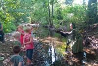 Die Kinder-Animation des KNAUS Campingparks Walkenried sorgt für abwechslungsreiche Ferienerlebnisse mitten in der Natur.
