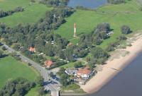 Camping, Nordsee, Bremen, direkt an der Weser, Strand