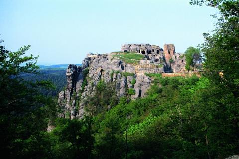 Burgruine Regenstein bei Blankenburg