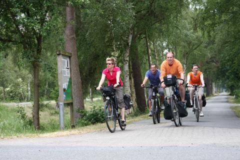 Radwanderweg Teufelsmoor Wattenmeer bei Gnarrenburg