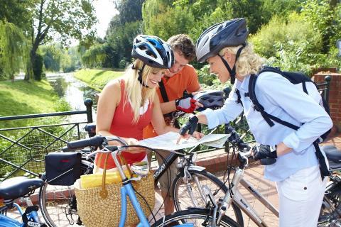 Rad fahren in Niedersachsen
